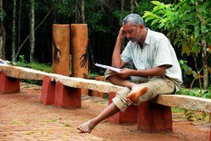 ಲೇಖಕ ಚನ್ನಕೇಶವ. ಫೋಟೋ: ಎ.ಎನ್.ಮುಕುಂದ