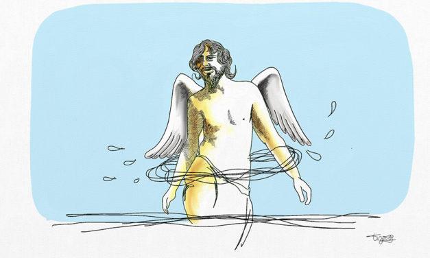 ಅಗಾಧ ರೆಕ್ಕೆಗಳ ಮುದುಕ:ಕಾರ್ಲೋ ಅನುವಾದಿಸಿದ ಮಾರ್ಕ್ವೆಜ್ ನ ಸಣ್ಣಕಥೆ