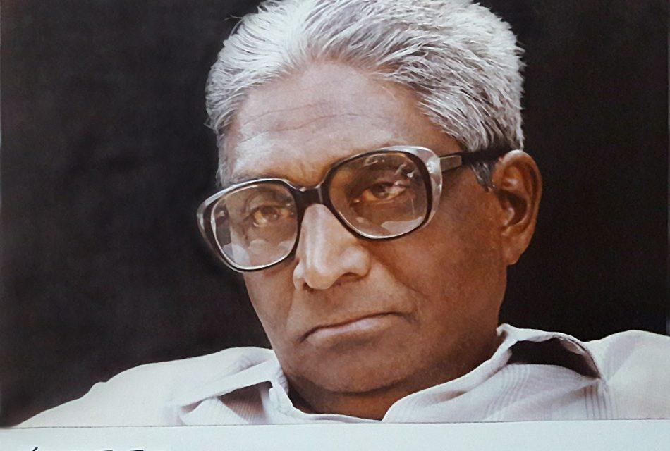 ಎ.ಎನ್.ಮುಕುಂದ ತೆಗೆದ ಡಾ.ಪ್ರಭುಶಂಕರರ ಫೋಟೋ