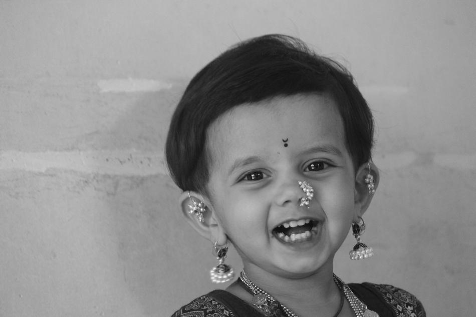 ಗಣೇಶ್ ಖರೆ ತೆಗೆದ ಮುದ್ದು ನಗುವಿನ ಚಿತ್ರ