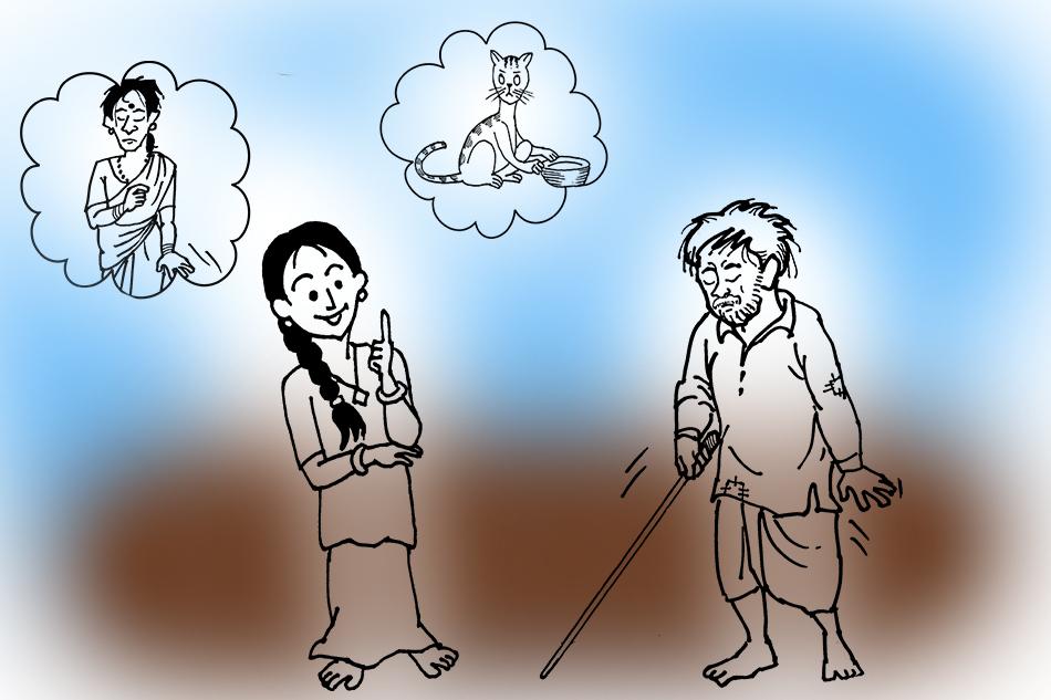 ಅಮ್ಮ, ಪಮ್ಮಿ, ತಾತ, ಬೂಚಿಬೆಕ್ಕು: ಬೇಲೂರು ರಘುನಂದನ್ ಬರೆದ ಮಕ್ಕಳ ಕತೆ