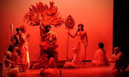 ಗಿರೀಶ್ ಕಾರ್ನಾಡ್ ರಚನೆಯ ಅಗ್ನಿ ಮತ್ತು ಮಳೆ ನಾಟಕದ ರಂಗರೂಪ