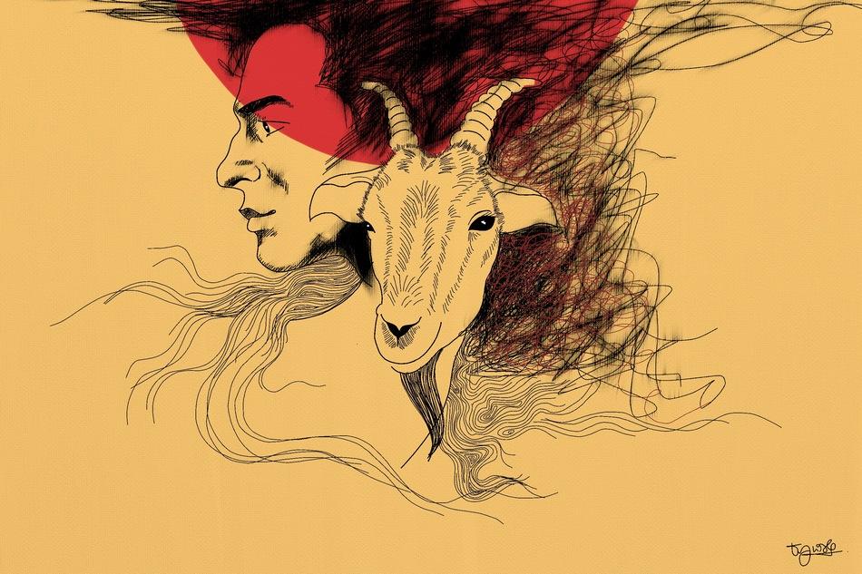 """ಕಾ.ಹು. ಚಾನ್ ಪಾಷ ಅನುವಾದಿಸಿದ ಅನ್ವರ್ ಬರೆದ ತೆಲುಗು ಕಥೆ """"ಬಕ್ರಿ"""""""
