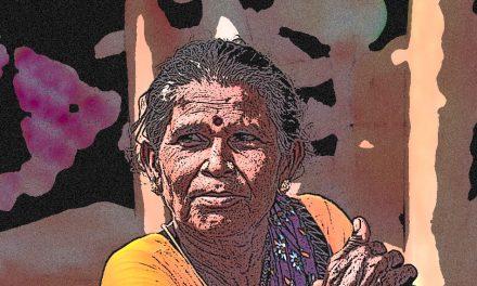 ರಂಗೋಲಿ ಕಲಿಸಿ ಬಲಿಪಾಡ್ಯಮಿಗೆ ಹೊರಟ ಅಜ್ಜಿ